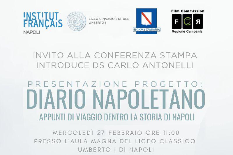 """Progetto Cinema """"Diario Napoletano – Appunti di viaggio dentro la storia di Napoli"""""""