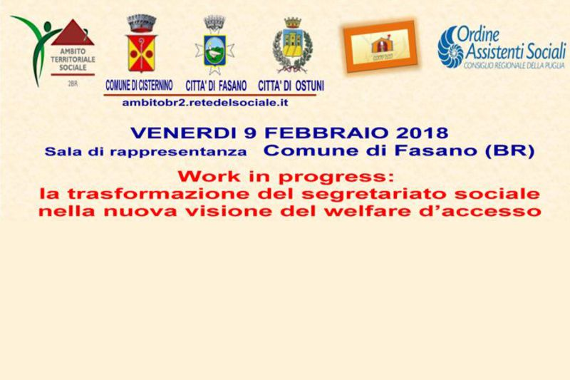 "Evento ""Work in progress"""