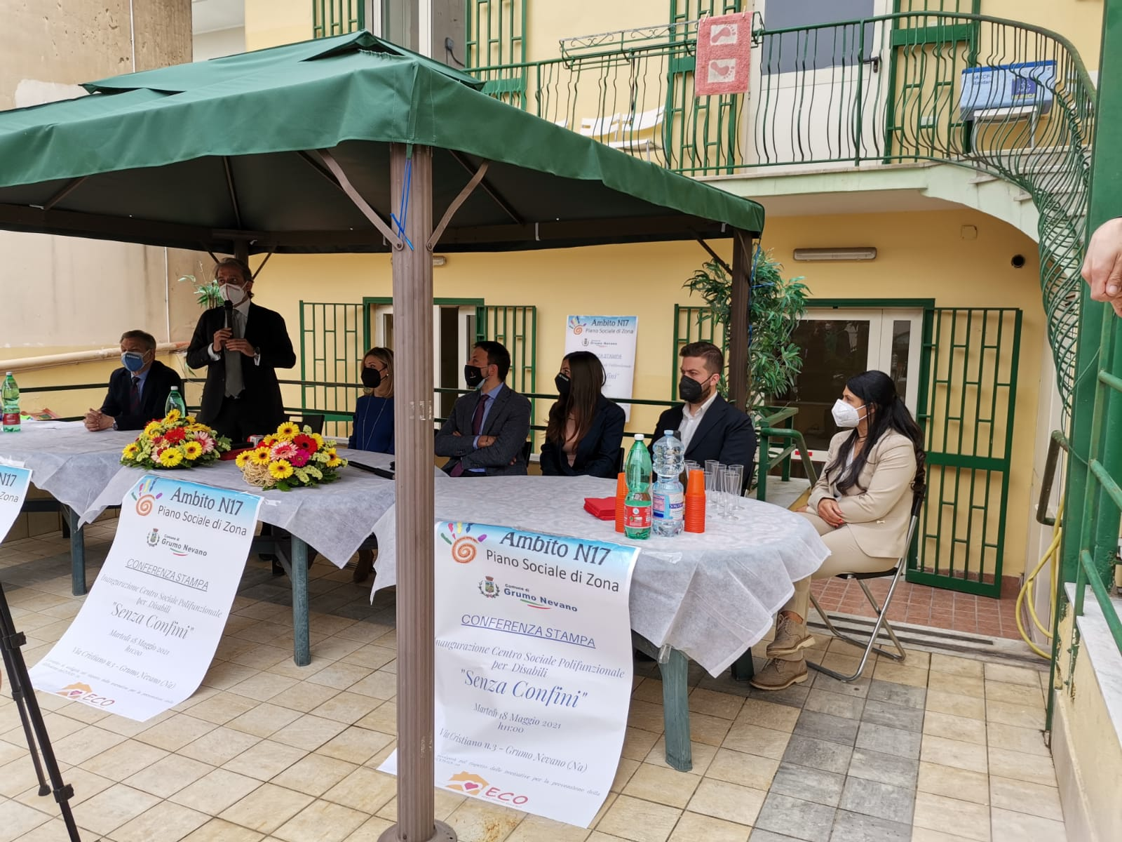 """Inaugurazione Centro Sociale Polifunzionale per Disabili """"Senza Confini"""""""